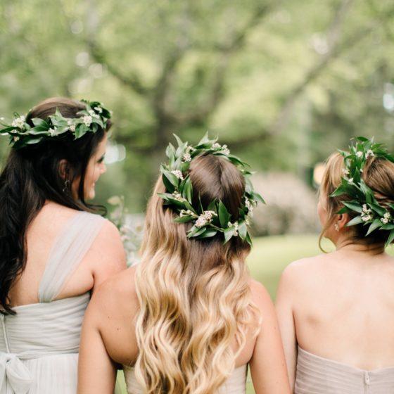 HAIR FLOWERS & HEAD WREATHS